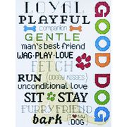 Good Dog - Design Works Crafts Cross Stitch Kit