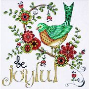 Design Works Crafts Be Joyful Cross Stitch Kit