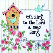 A New Song - Design Works Crafts Cross Stitch Kit