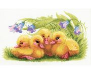 RIOLIS Funny Ducklings Cross Stitch Kit