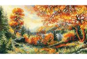 RIOLIS Crimson Autumn Cross Stitch Kit