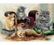 Feline Family - RIOLIS Cross Stitch Kit