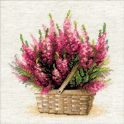 RIOLIS Scottish Heather Cross Stitch Kit