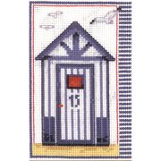 Beach Hut - Vervaco Cross Stitch Kit