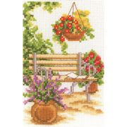 Vervaco Garden Bench Cross Stitch Kit