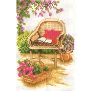 Wicker Chair - Vervaco Cross Stitch Kit