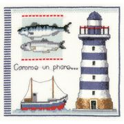 Lighthouse - Vervaco Cross Stitch Kit