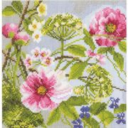 Lanarte Peonies - Evenweave Cross Stitch Kit