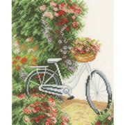 Lanarte My Bicycle - Evenweave Cross Stitch Kit