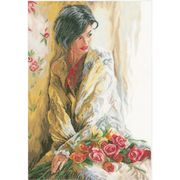 Lanarte Morning Beauty Cross Stitch Kit
