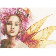 Lanarte Fairy Cross Stitch Kit