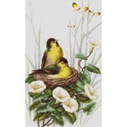 Birds in the Nest - Luca-S Cross Stitch Kit