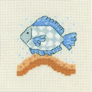 Permin Fish Cross Stitch Kit