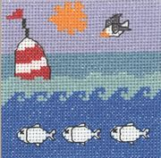 Permin Bouy at Sea Cross Stitch Kit