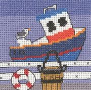 Passing Ships - Permin Cross Stitch Kit