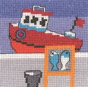 Permin The Days Catch Cross Stitch Kit