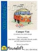 Camper Van - Mouseloft Cross Stitch Kit