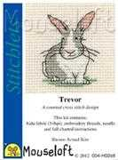 Mouseloft Trevor the Rabbit Cross Stitch Kit