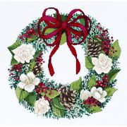 Janlynn Christmas Traditions Cross Stitch Kit
