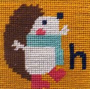 Hedgehog - Stitching Shed Tapestry Kit