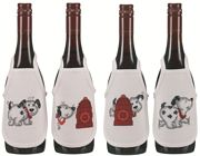 Little Dog Wine Aprons - Permin Cross Stitch Kit