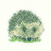 Hedgehog - Evenweave - Heritage Cross Stitch Kit