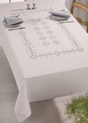 Permin Hardanger RectangleTablecloth Embroidery Kit