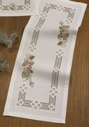 Roses Hardanger Runner - Permin Embroidery Kit