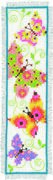 Butterflies Bookmark 1 - Vervaco Cross Stitch Kit