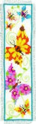 Vervaco Butterflies Bookmark 2 Cross Stitch Kit