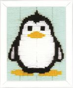Penguin - Vervaco Long Stitch Kit
