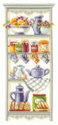Kitchen Shelf - Vervaco Cross Stitch Kit