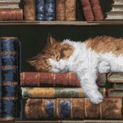 Vervaco Sleeping Cat Cross Stitch Kit