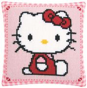 Hello Kitty Cushion - Vervaco Cross Stitch Kit