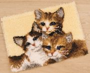 Vervaco Three Kittens Latch Hook