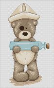 Luca-S Sickbay Bruno Cross Stitch Kit