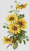 Daisies - Luca-S Cross Stitch Kit