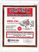 Pres-On Self-Stick Mounting Board 8 x 10 inch