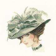 Charlotte Mini - Aida - Heritage Cross Stitch Kit