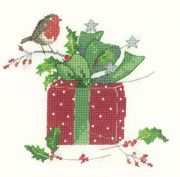 Christmas Gift - Aida - Heritage Cross Stitch Kit