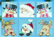 Design Works Crafts Funny Friends Ornaments Cross Stitch Kit