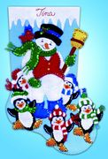 Design Works Crafts Penguin Party Felt Stocking Christmas Craft Kit