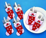 Design Works Crafts Stockings Pocket Set Christmas Craft Kit