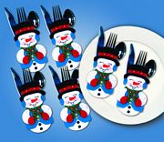 Design Works Crafts Snowman Pocket Set Christmas Craft Kit