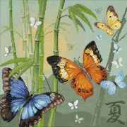 RIOLIS Butterflies Cross Stitch Kit