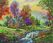 Mountain Retreat - Maia Cross Stitch Kit