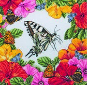 Maia Spring Butterflies Cross Stitch Kit