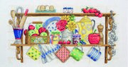 The Kitchen Shelf - Anchor Cross Stitch Kit