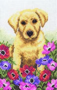 Puppy - Anchor Cross Stitch Kit