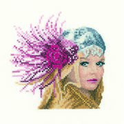 Fleur Mini - Aida - Heritage Cross Stitch Kit